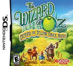 Wizard of Oz Nintendo DS Box Art