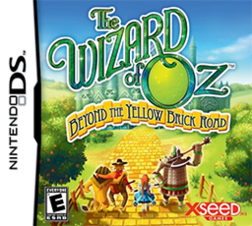 Wizard of Oz Nintendo DS Box Art