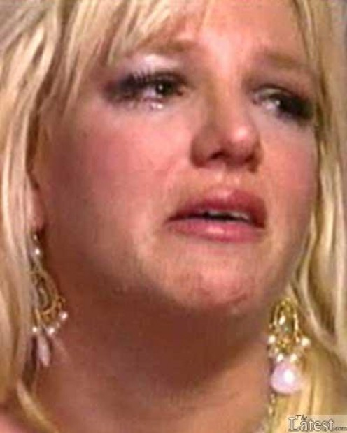 Sometimes Britney's wide-open schedule catches up to her and she has to release her exhaustion through tears