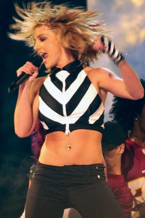 Britney, an accomplished dancer, helps to choreograph her own dancing for her concerts