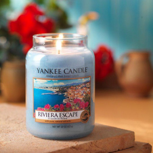 Riviera Escape of the Yankee Candle