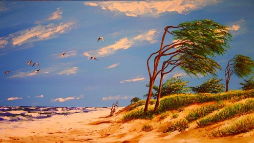Acrylics Landscaping Paintings Hubpages