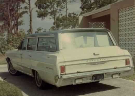 The Family Car was a 1964 Chevy Bel Air station wagon.