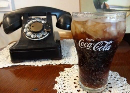 A ten-cent Coke from the soda fountain
