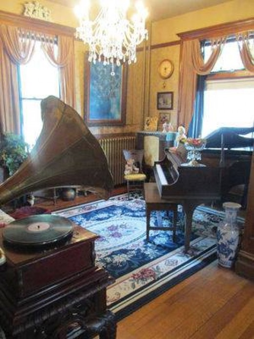 The other side of the Music Room.