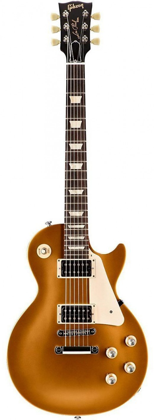 Les Paul '50s Tribute T (Satin Gold Top with Dark Back)
