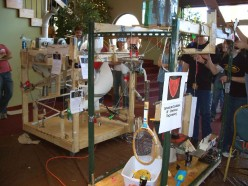 Fun and Learning with Rube Goldberg Machine