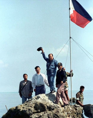 Philippines planting their flag in the 1990s