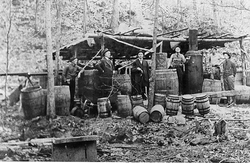 Vintage moonshiners