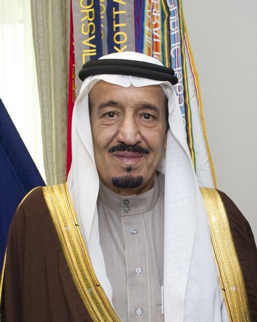 King Salman Bin Abdal Aziz