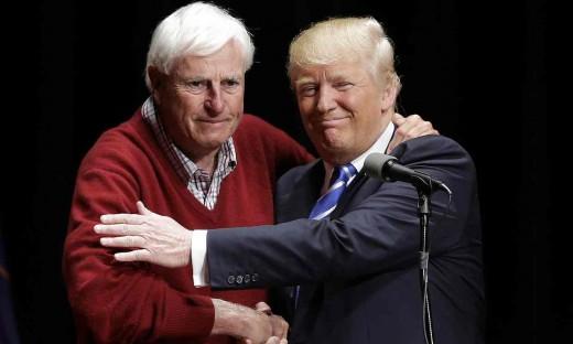 Trump and Bobby Knight