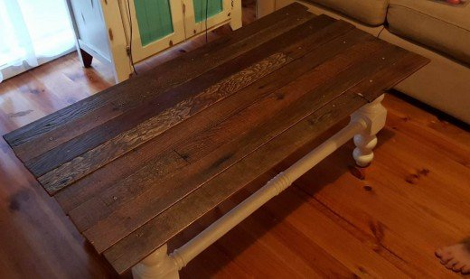 Coffee Table Farmhouse Makeover HubPages