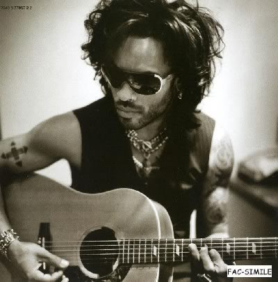 Media try to portray Lenny Kravitz as a rival to Prince but Kravitz was an admirer of Prince and later a good friend.