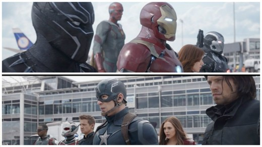 Team Ironman Vs Team Captain America