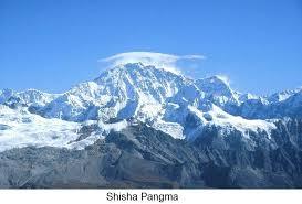 Shishapangma Mountain in tibet