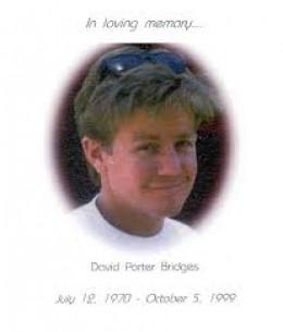 Enigmatic foto of David Bridges