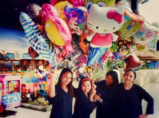 Nurses in the Kingdom have fun too! Taken at Dahran Mall.