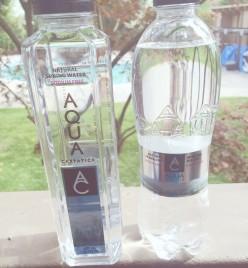 Delicious, nitrate-free water: AQUA Carpatica