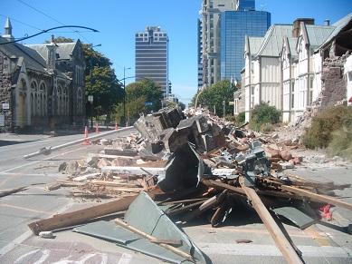 Christchurch post Earthquakes