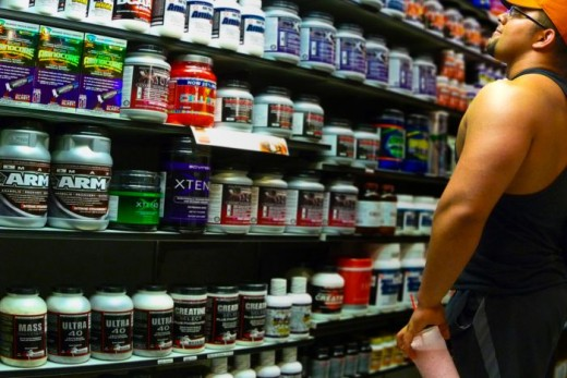 Fast muscle gains need supplements.