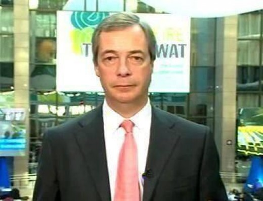 The ever upbeat leader of UKIP Nigel Farage hoping his party will do well across the UKIP because of problems the Labour and Conservative parties are having internally also on anti - EU feelings in the British populace.