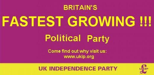 UKIP banner.