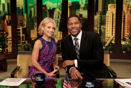 Ripa and Strahan in happier times