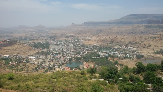 View from Bramha Giri