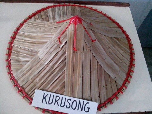 Kurusong or Native Hat (Photo Source: Ireno Alcala)