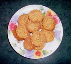 Homemade Sesame-Flax Crackers