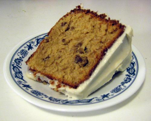Brown Sugar Pound Cake Slice