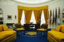 President Richard Nixon's office. (Photo shot Sept. 19, 1969)