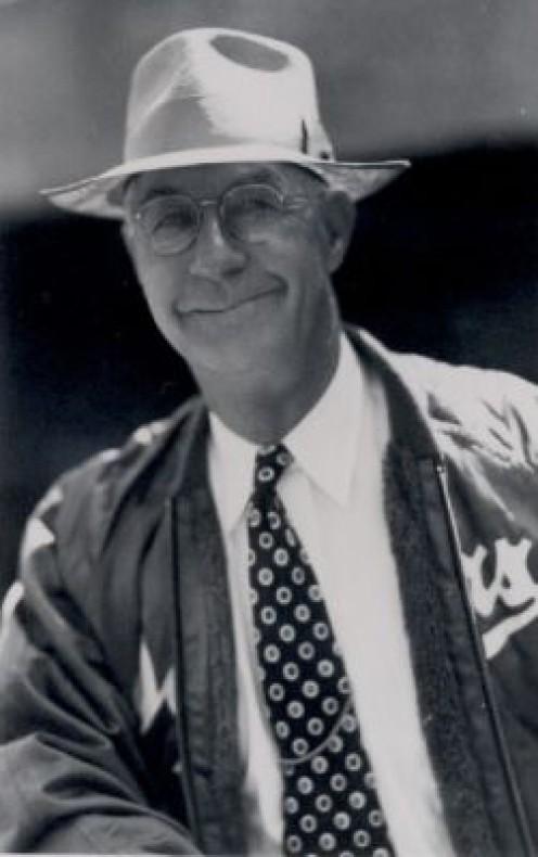 Burt Shotten, Dodger Manager, 1947-1950.
