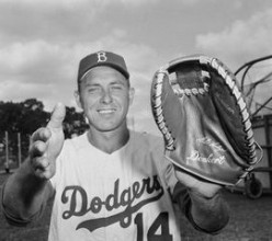 First Baseman and close friend Gil Hodges was able to stay in MLB after his playing career.