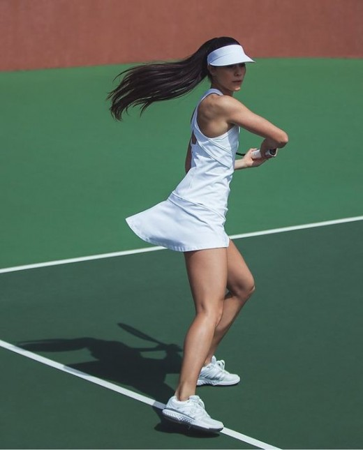 Enjoy a game of tennis while reaping the benefits of this fat blasting workout.