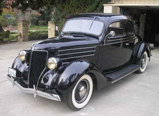 Classic 1936 Ford Coupe