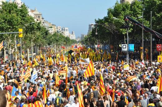 Demonstration on Catalonia