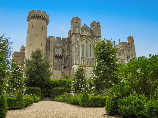 The Beautiful Arundel Castle diego_Tores Publc Domain