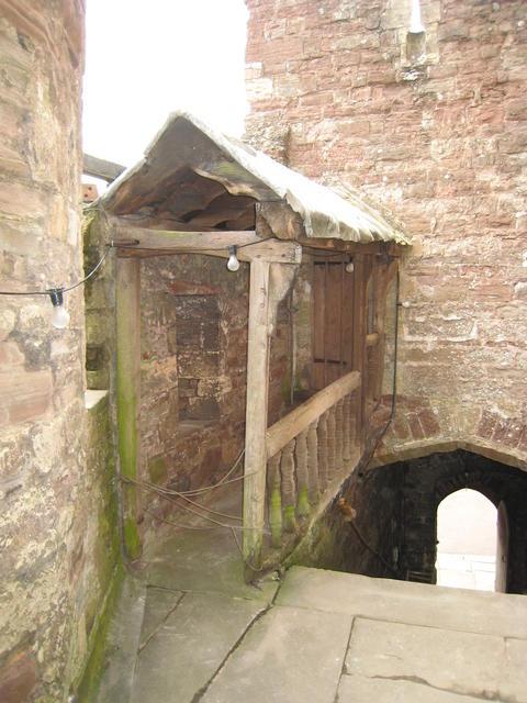 Walkway to Edward II's cell David Stowall