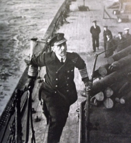 Admiral Sir John Jellicoe, commander of the British Home Fleet at Jutland