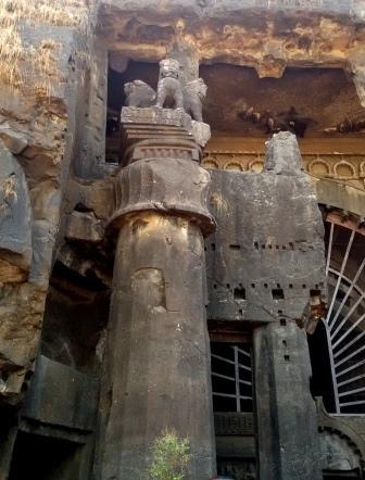 The Lion Pillar of Karla