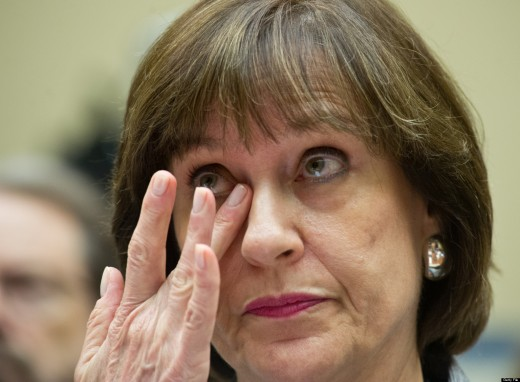 Lois Lerner - Taking the 5th to avoid prosecution