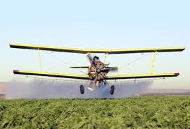 Being a crop duster is far from boring