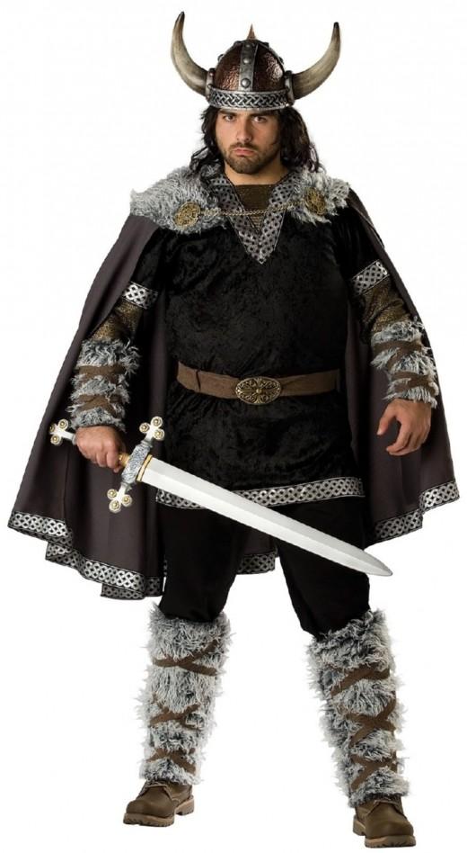 A viking man.