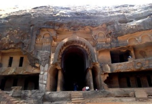 The Chaityagriha (Shrine) of the Bhaja group of caves