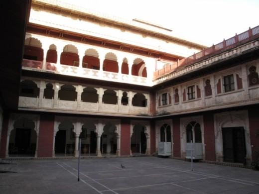 The Brij Raj Bhavan Palace