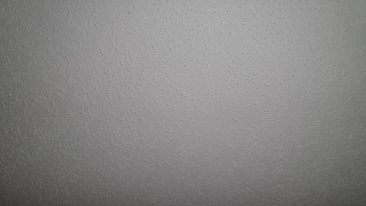 I HATE Popcorn Ceiling!!!!  Photo by AMB
