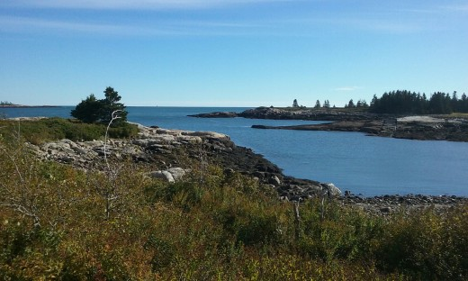 Schodic Point, Maine