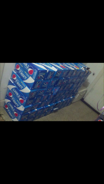 All of these in total was 63 cases and my cost was $0.00