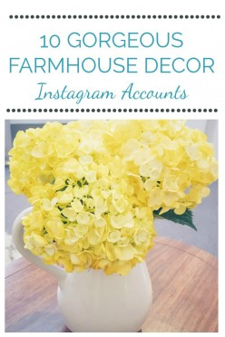 10 Instagram Accounts To Follow For Farmhouse Decor Inspiration